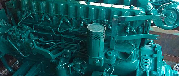 volvo penta marine mechanic reconditioned engine